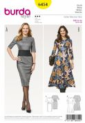 6454 Burda Pattern Dress
